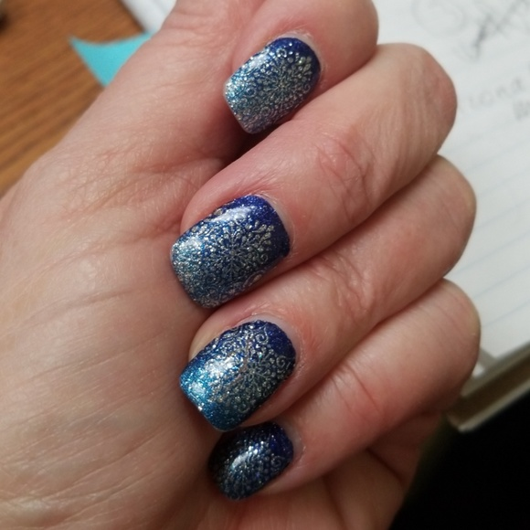 Incoco Other | Color Street Nail Polish Strips Ice To Meet You ...